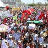 En ascenso . A una semana del golpe en Brasil, las movilizaciones se afirman en todo el país